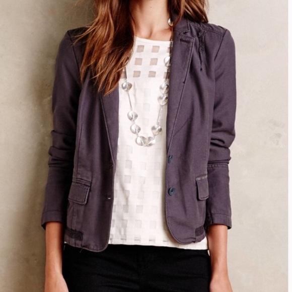 Anthropologie Jackets & Blazers - Anthropologie Hei Hei | Delaine Blazer Jacket 2